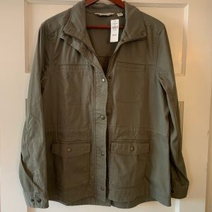 L.L. Bean Classic Utility Jacket in Dusty Olive